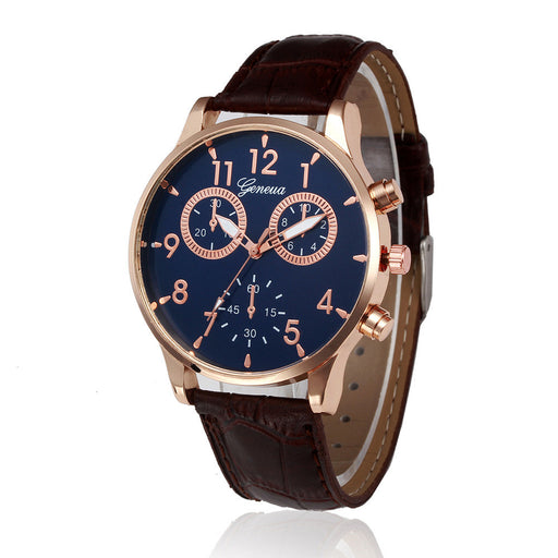 Flashy Trends Business Style Casual Men's Quartz Chronograph Wrist Watch Men