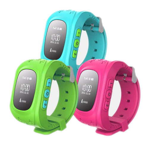 Flashy Trends GPS Kid Tracker Smart Wrist Watch in 3 Colors