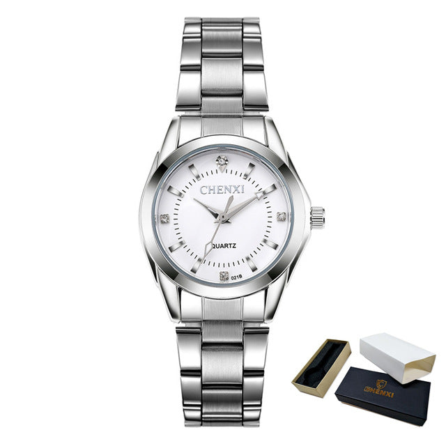 Flashy Trends Women's Casual Waterproof Wrist Watch in Various Colors