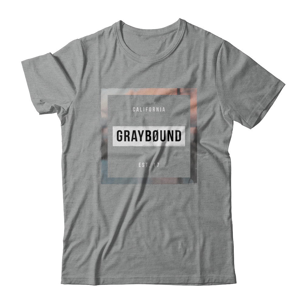 Box Logo Tee - Graybøund Apparel and Acessories