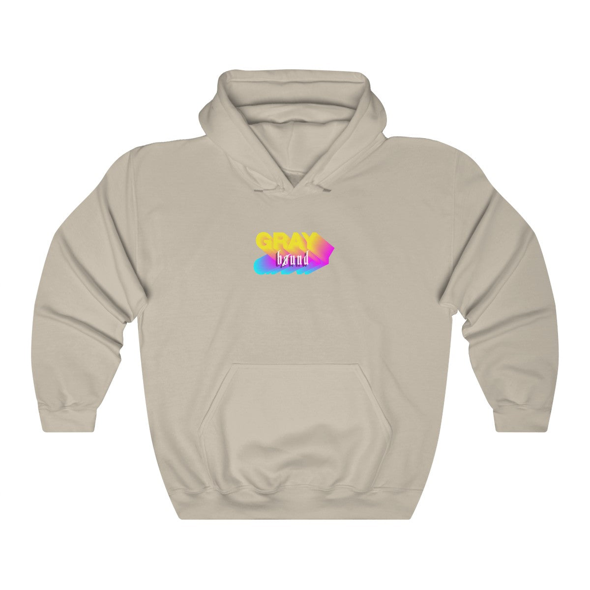 Graphic Logo Hoodie - Graybøund Apparel and Acessories