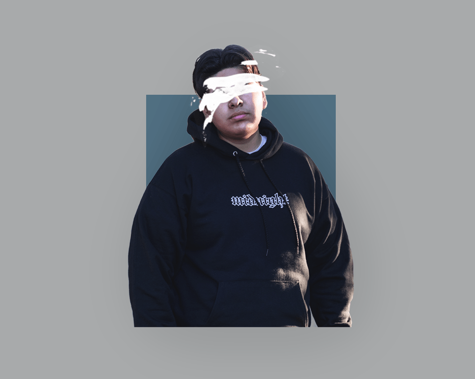 """Midnight"" Graphic Hoodie - Graybøund Apparel and Acessories"