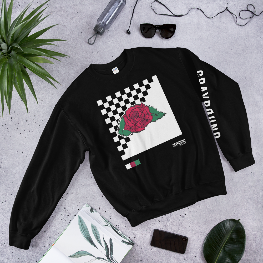 Graybound x Rudy Checkerboard Sweatshirt