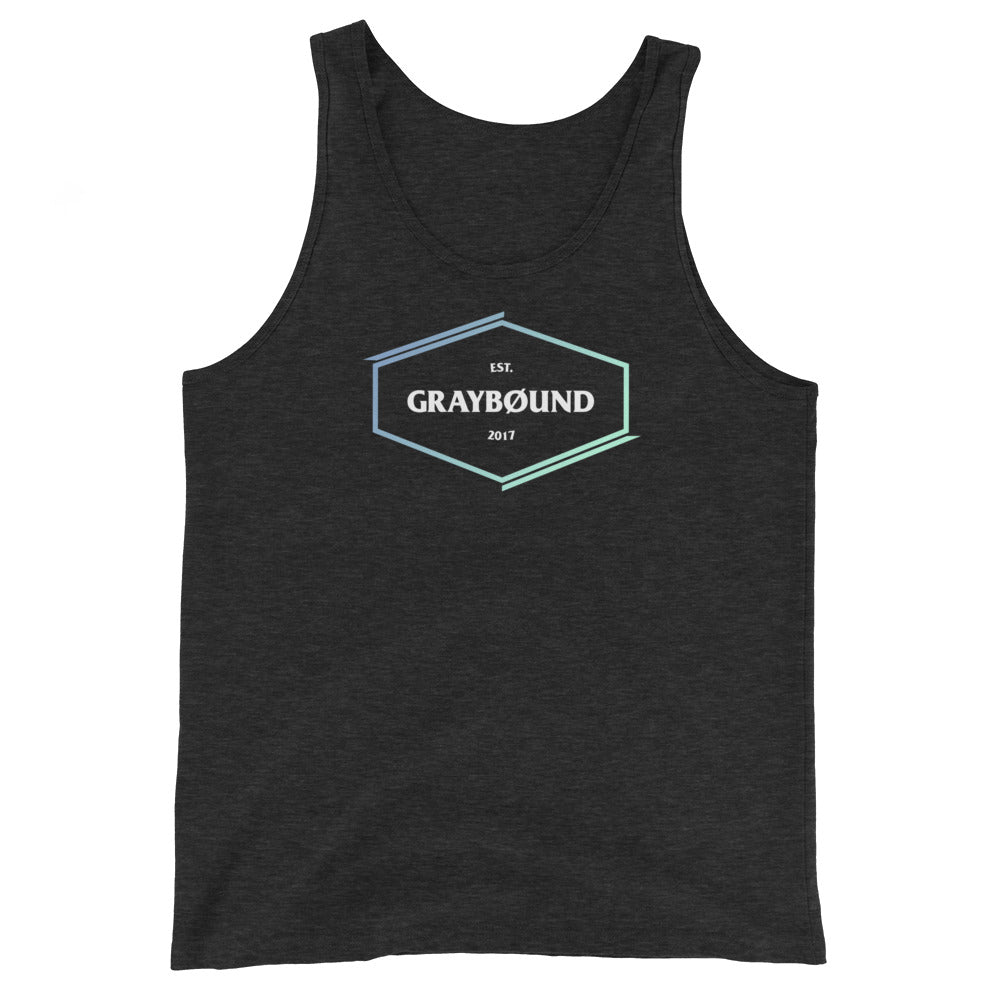 Gradient Logo Unisex Tank Top - Graybøund Apparel and Acessories