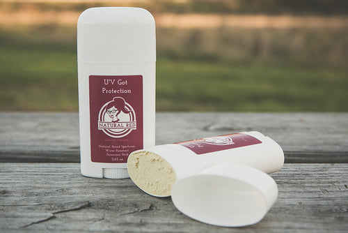 Natural Red UV Got Protection ~ Natural, Broad Spectrum, Water-Resistant Sunscreen Stick