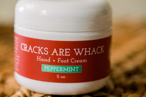 Cracks Are Whack Hand + Foot Cream