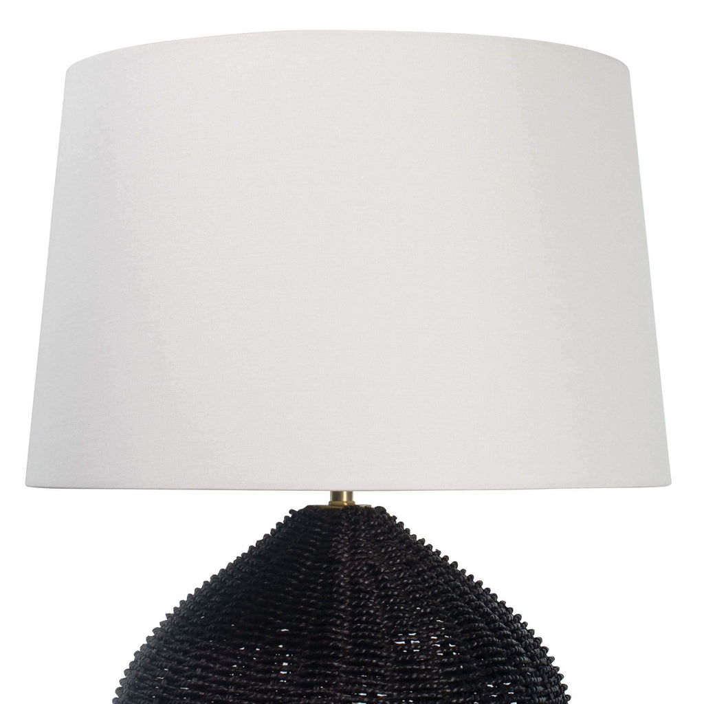 Georgian Table Lamp by Coastal Living, Black