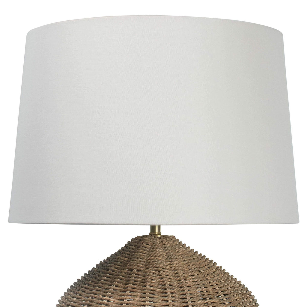 Georgian Table Lamp by Coastal Living, Natural