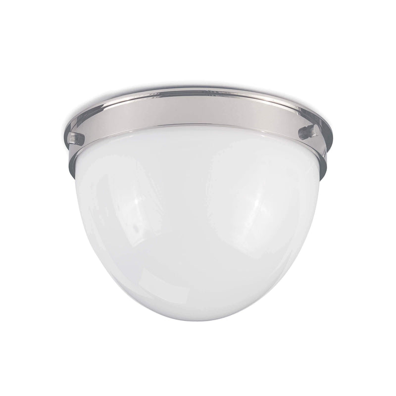 Bay Harbor Flush Mount by Coastal Living, Polished Nickel