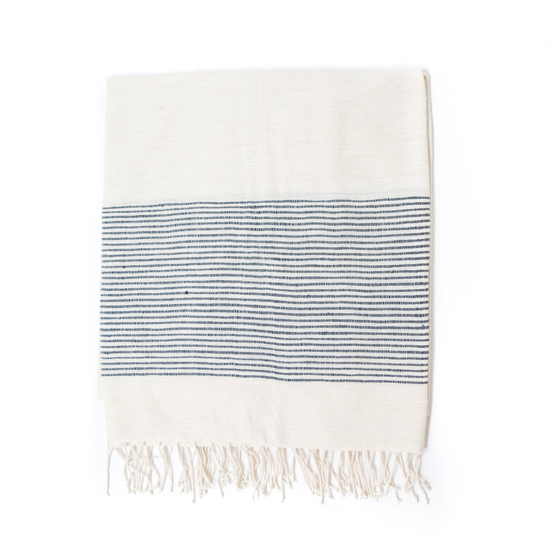 Capri Bath Towel, Navy