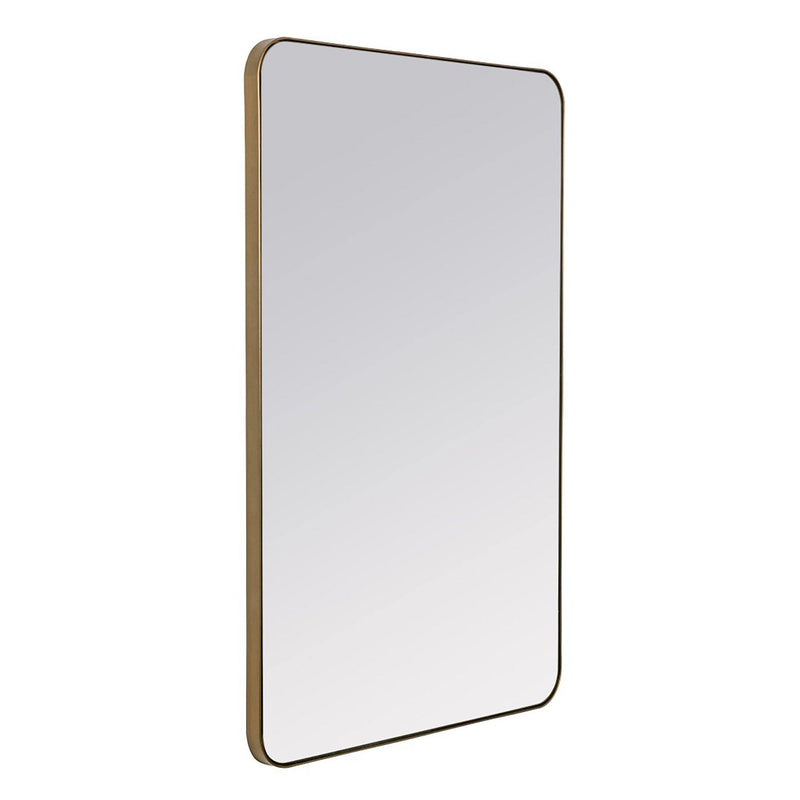Albany Gold Metal Mirror