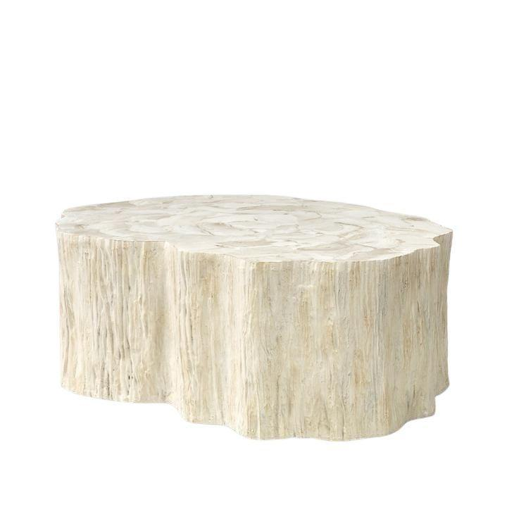 Camilla Fossilized Clam Coffee Table