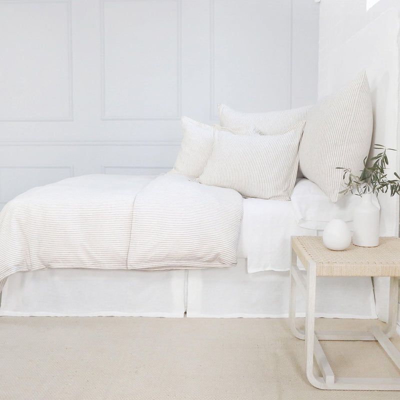 Connor Duvet Collection by Pom Pom at Home, Ivory/Amber