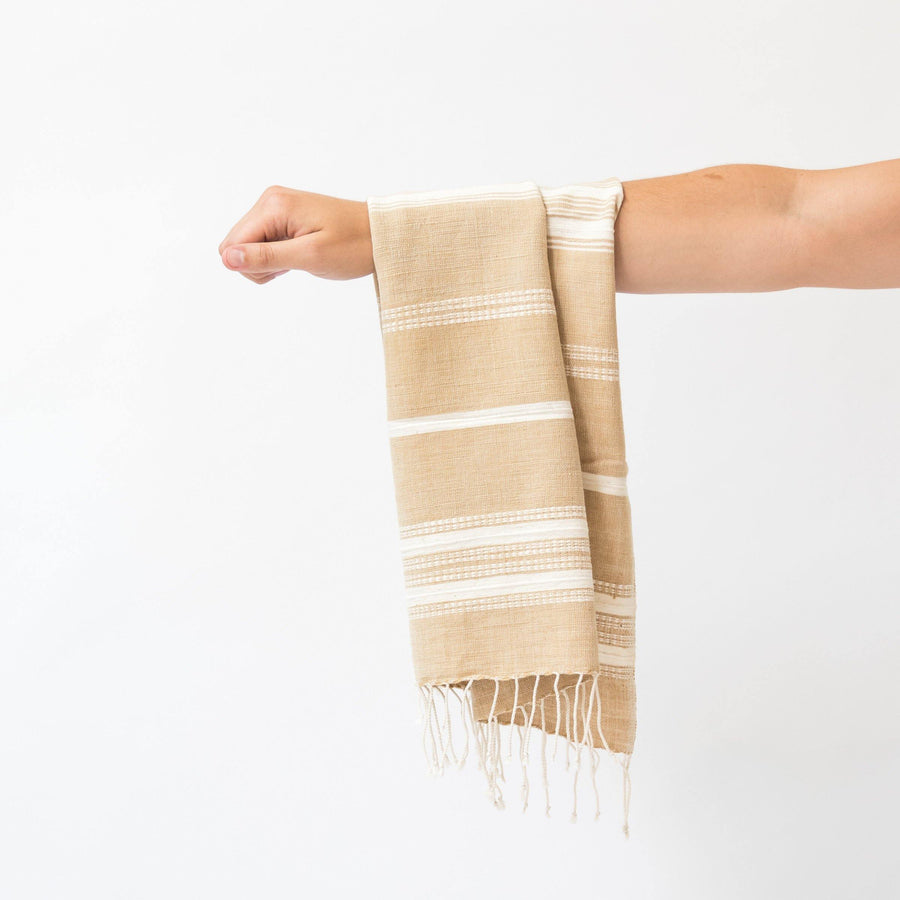 Alanya Hand Towel, Rattan with Natural