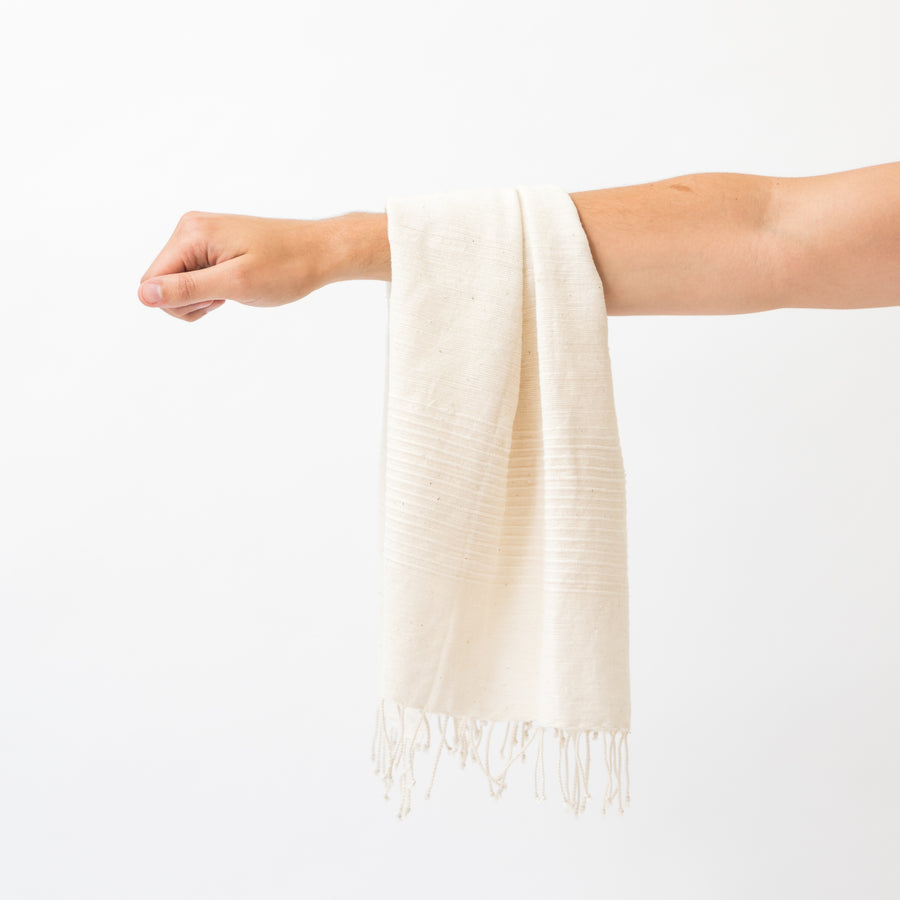 Capri Hand Towel, Natural
