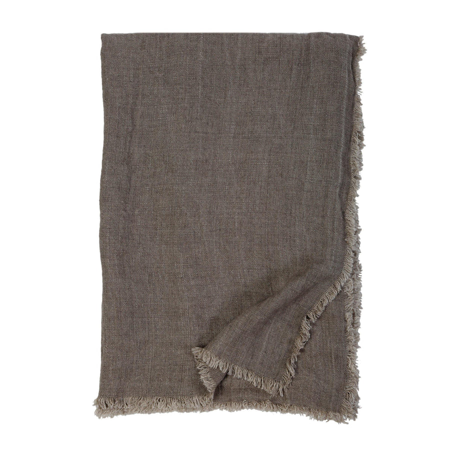 Laurel Oversized Throw by Pom Pom at Home, Pebble