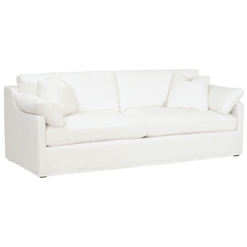 "Linda 95"" Slope Arm Slipcover Sofa"