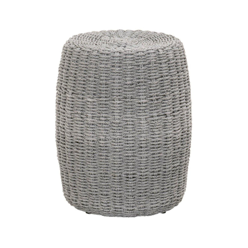 Leona Outdoor Accent Table, Platinum