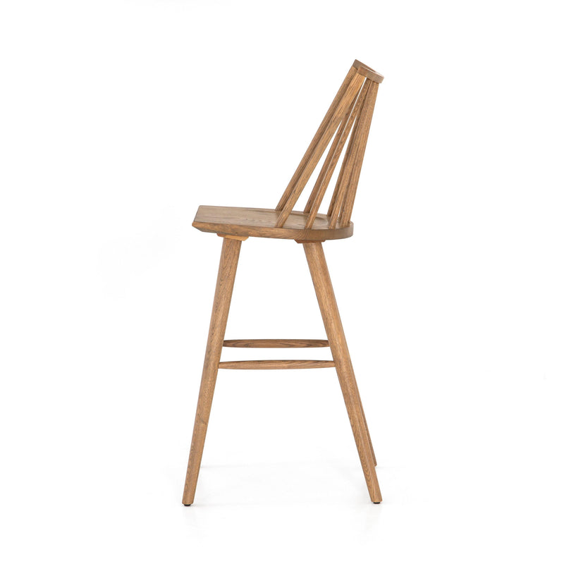 Louise Bar Stool, Sandy Oak
