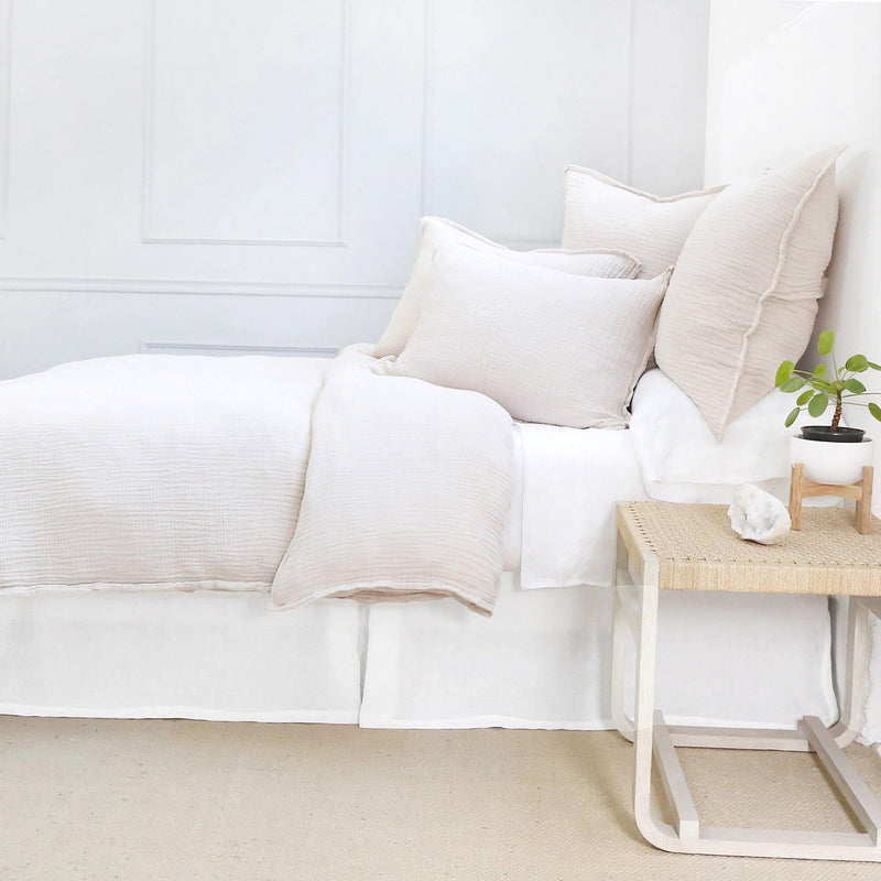 Luna Duvet Collection by Pom Pom at Home, Blush