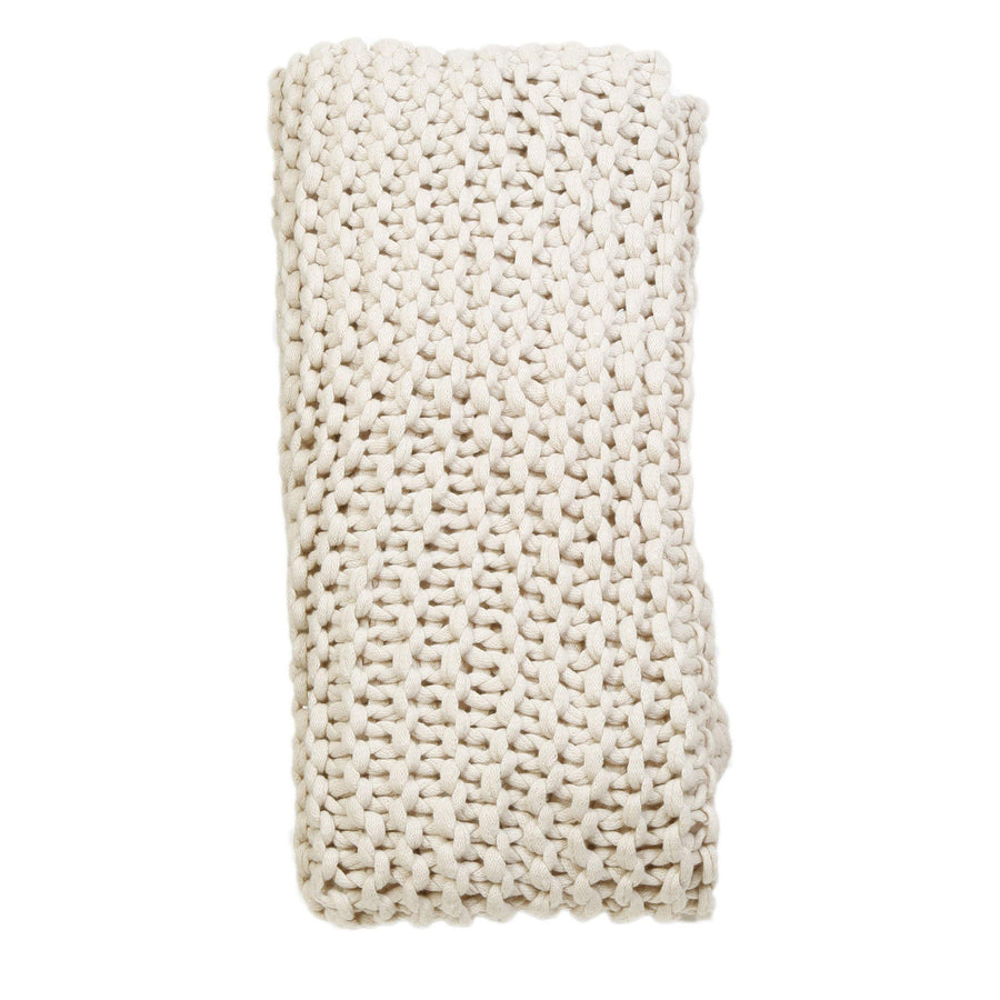 Finn Throw by Pom Pom at Home, Antique White