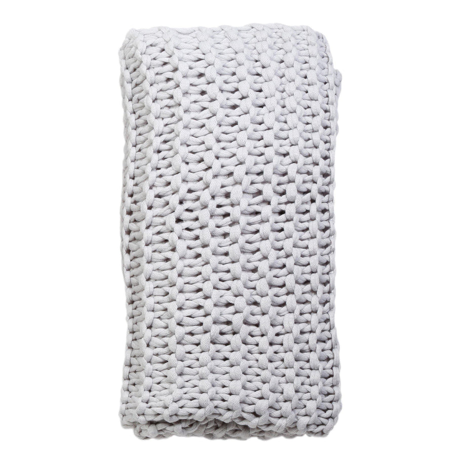 Finn Throw by Pom Pom at Home, Silver
