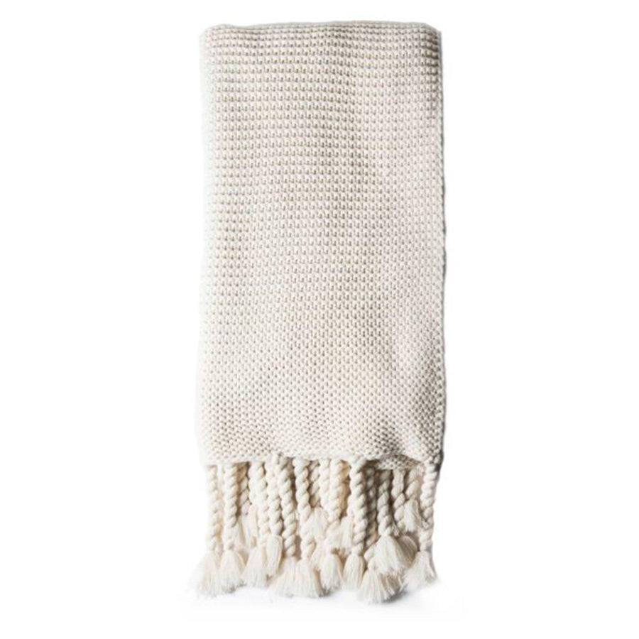 Trestles Oversized Throw by Pom Pom at Home, Antique White