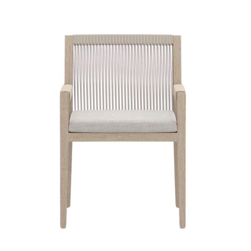 Anders Outdoor Dining Chair, Stone Grey