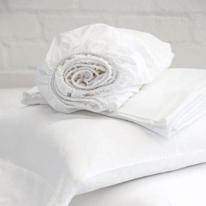 Bamboo Sheet Set by Pom Pom at Home, White