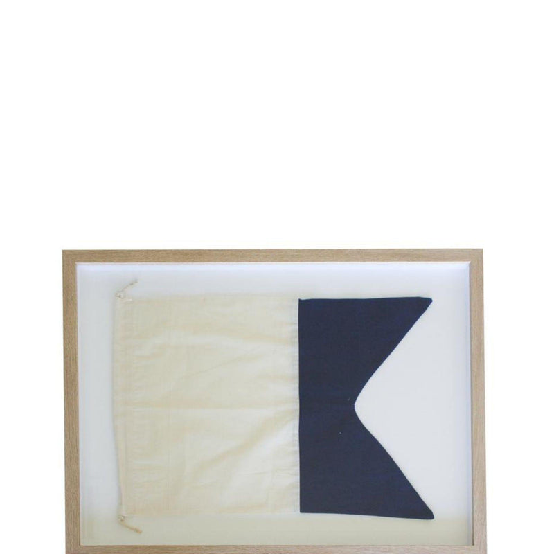 Framed Nautical Flag 1