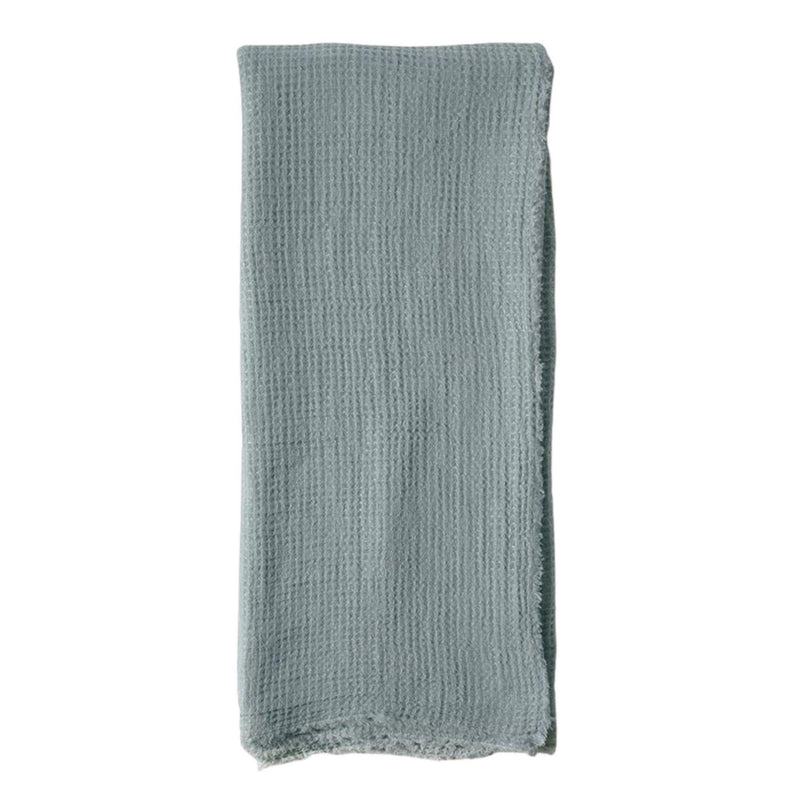 Venice Oversized Throw by Pom Pom at Home, Dusty Blue