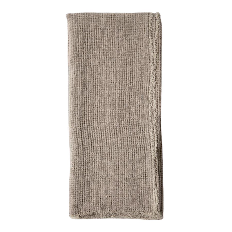 Venice Oversized Throw by Pom Pom at Home, Taupe