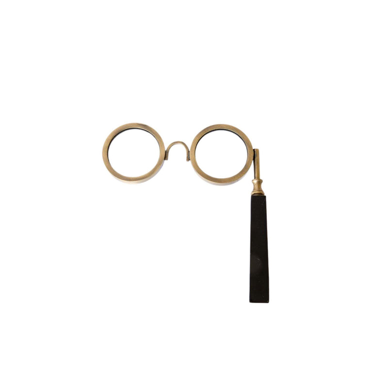 Maurice Brass & Resin Spectacle Magnifying Glass