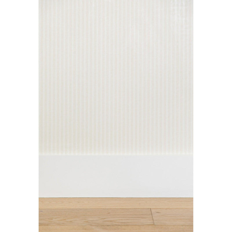 Stripe Wallpaper in Beige