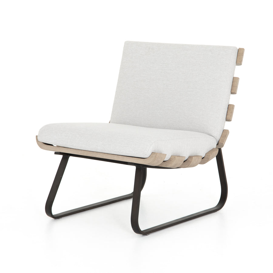 Dean Outdoor Chair, Stone Grey