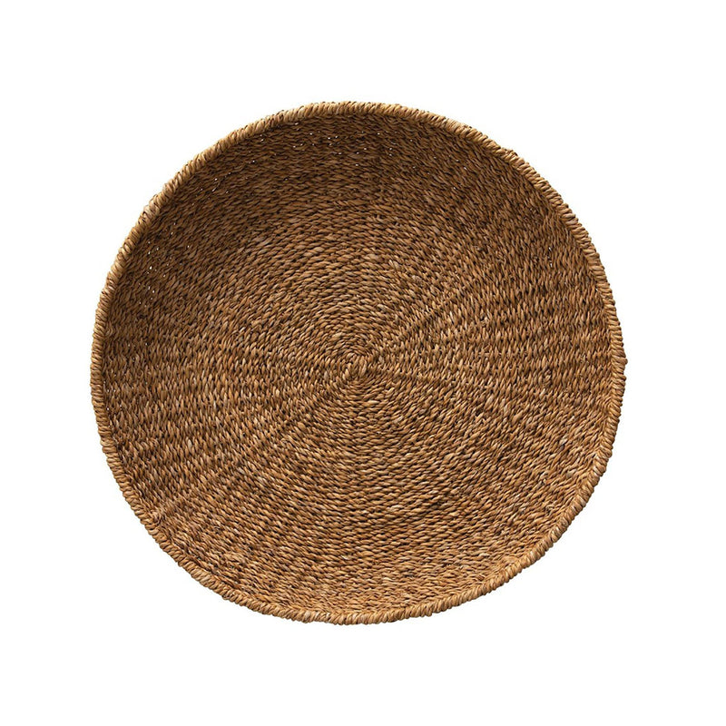 Emily Hand-Woven Decorative Seagrass Tray
