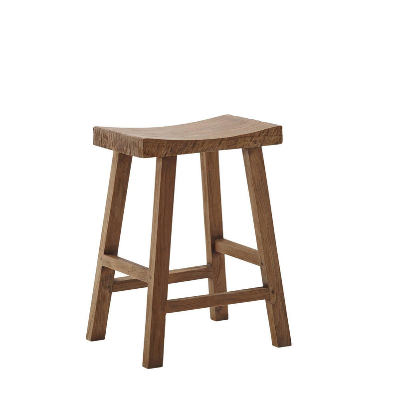Cecily Teak Counter Stool
