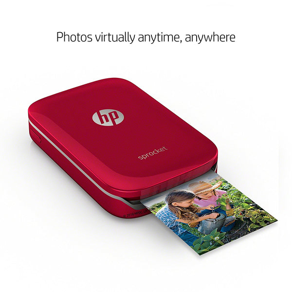 HP ZINK(R) Sticker Photo Paper for HP Sprocket Printer (2x3