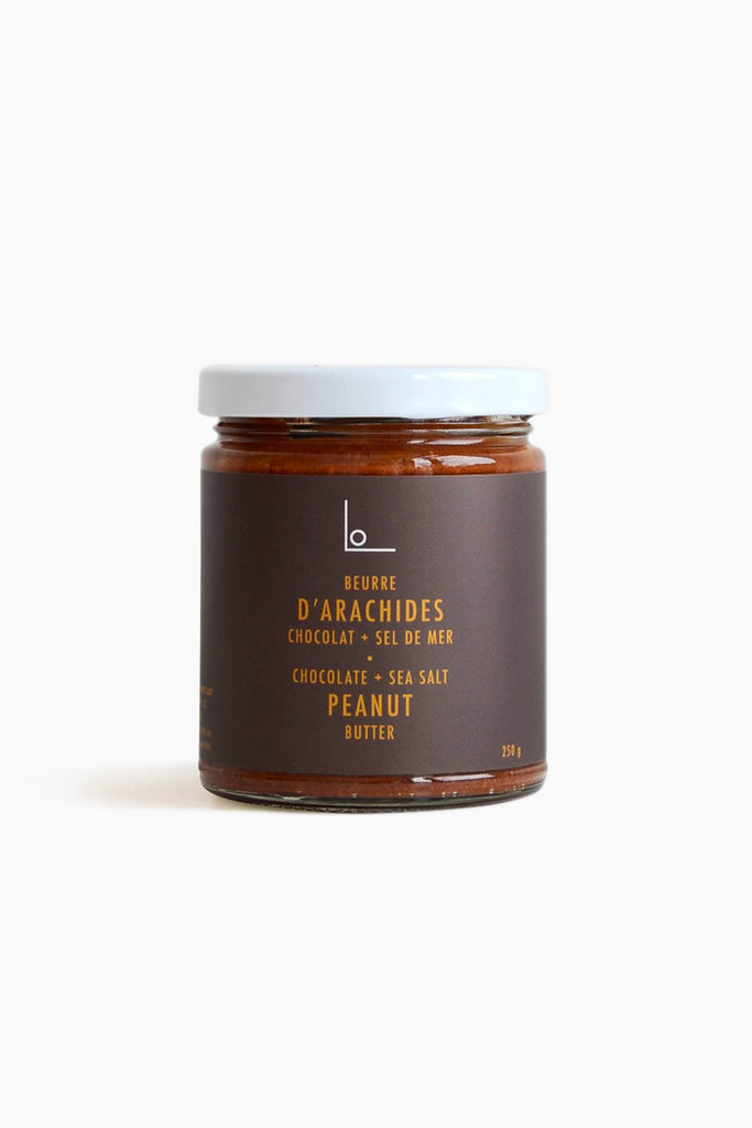 Chocolate Sea Salt Peanut Butter