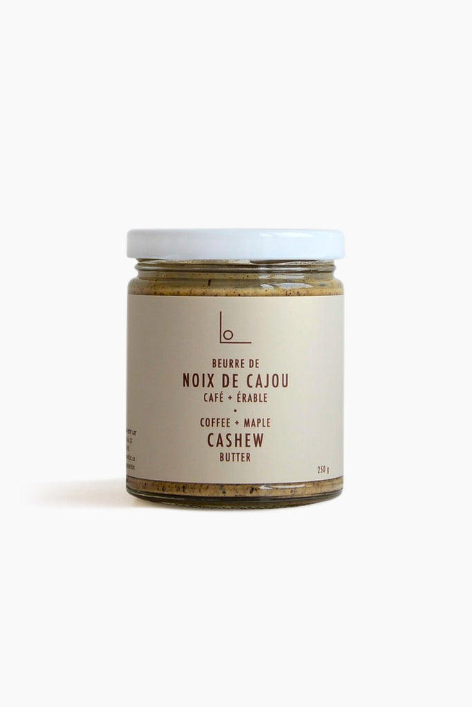 Coffee Maple Cashew Butter