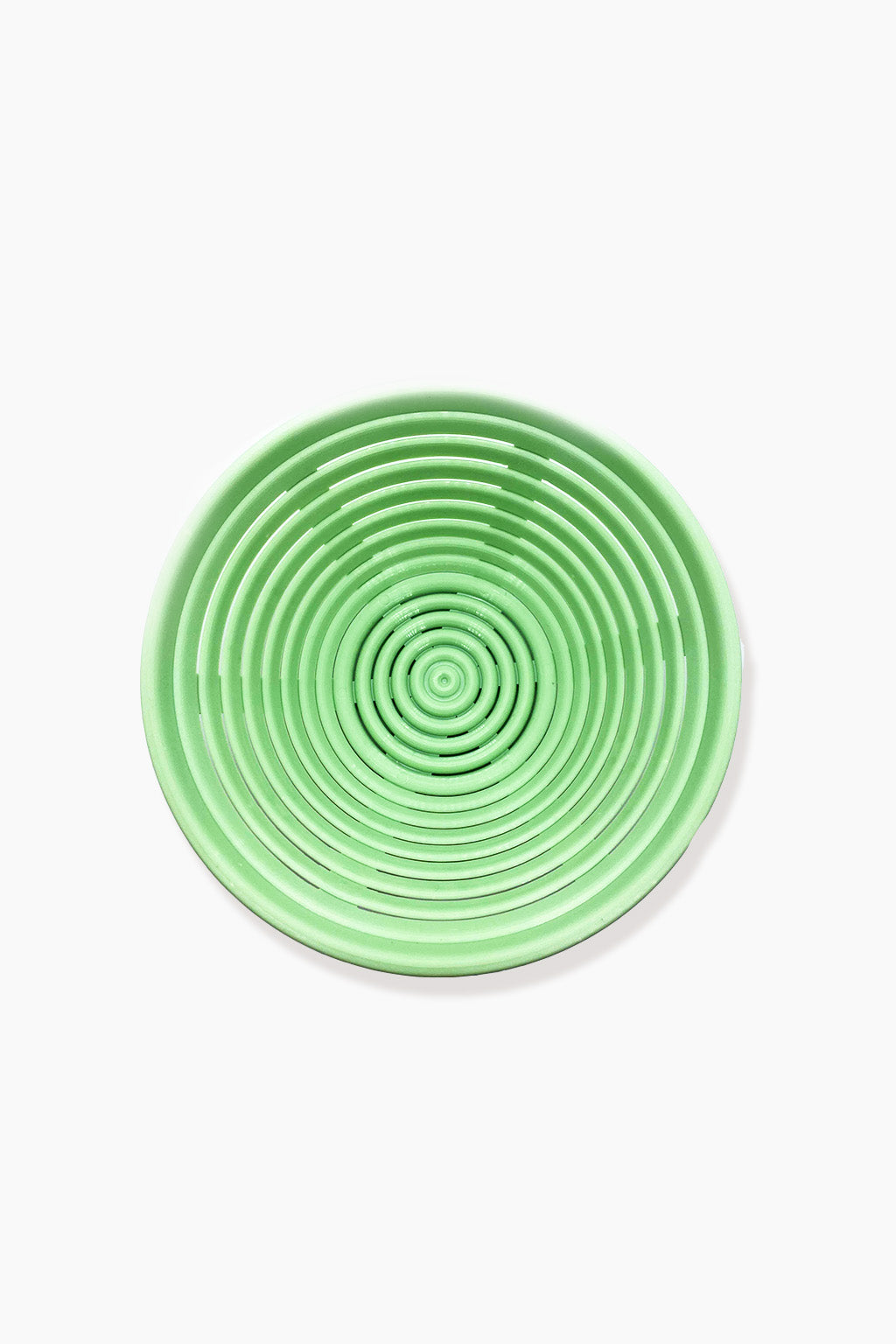 Round Plastic Proofing Basket Green