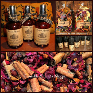 Potpourri, Fixins, Sprays & Refresher Oils