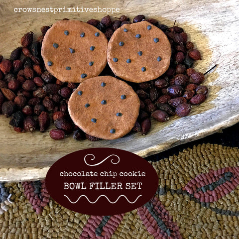 Bowl Filler- Chocolate Chip Cookie