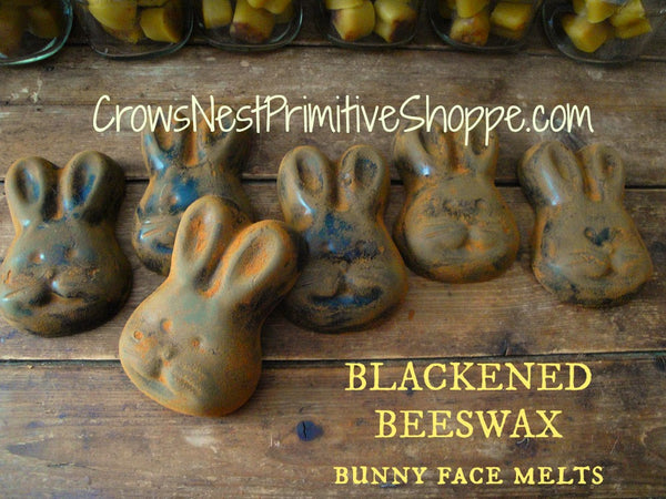 Scented Beeswax Bunny Face Shape Melts