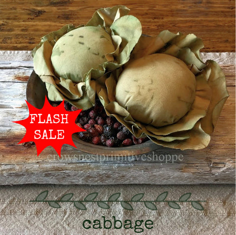Fabric Cabbage