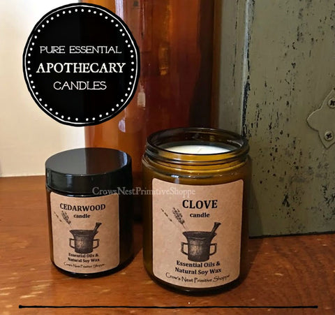Candle-Soy Apothecary Jar