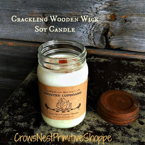 Candle-Soy Wooden Wick 16 ounce