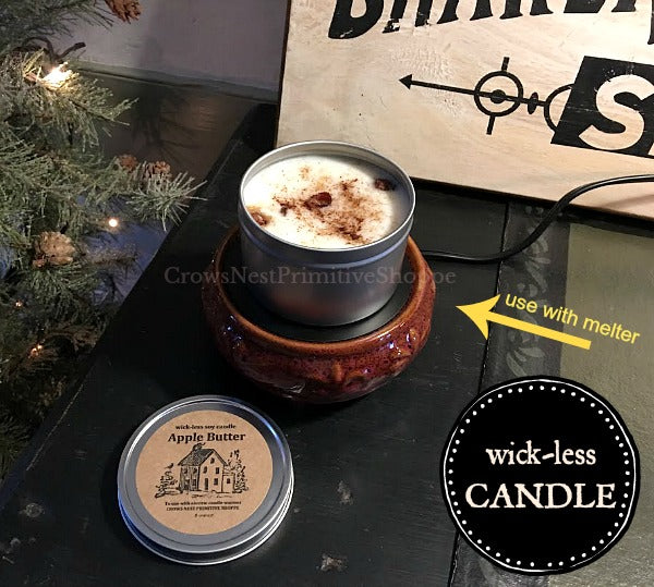 Candle-Soy Wickless 8 ounce
