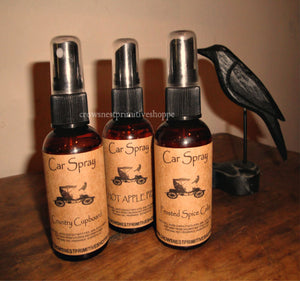 Scented Car Sprays- 2 ounce