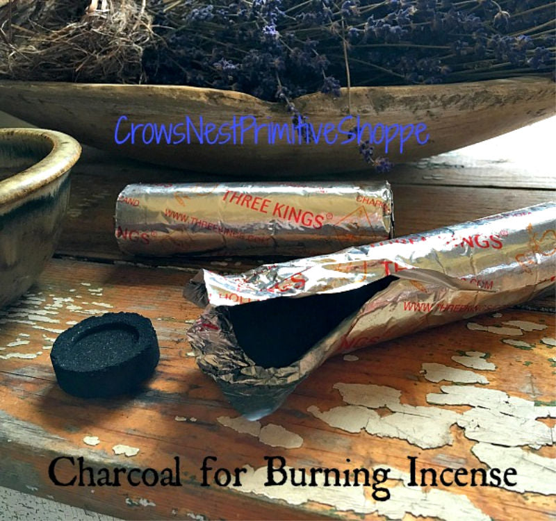 Charcoal for Loose Incense